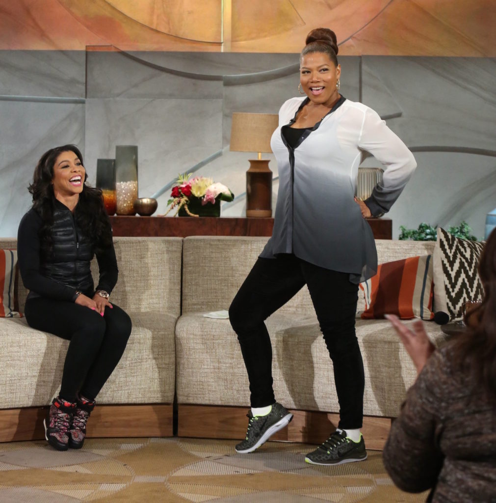 The Queen Latifah Show #1067 pictured: Jeanette Jenkins, fitness instructor