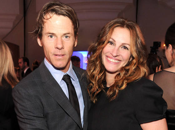 Julia Roberts and Danny Moder