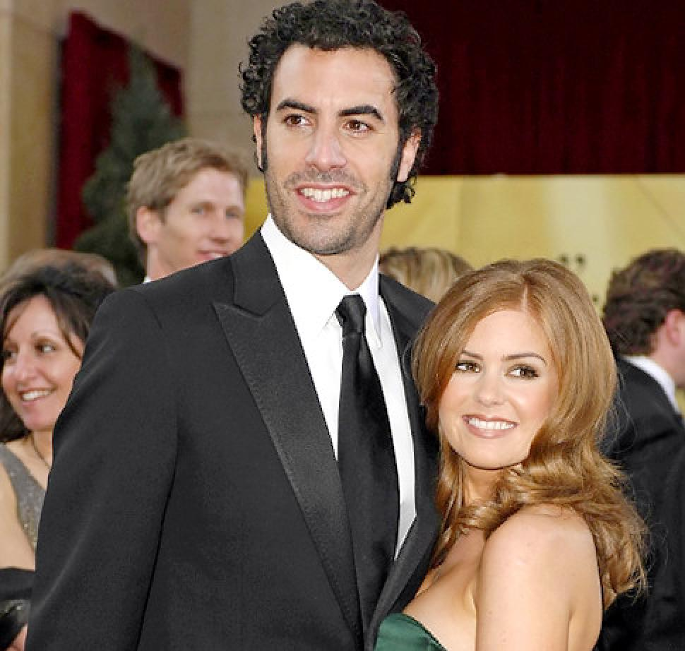 Sacha Barron and Isla Fisher
